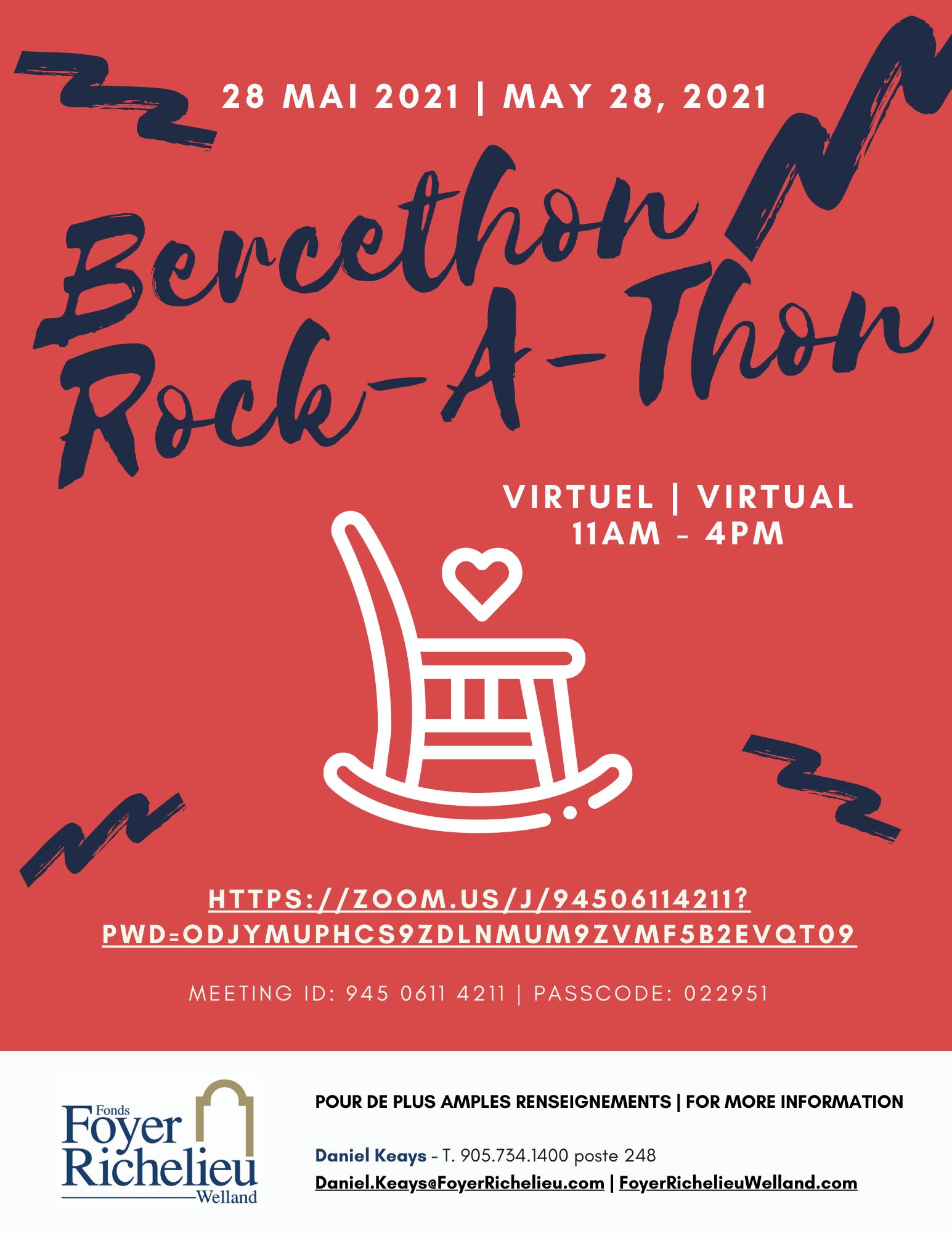 Virtual Rock-A-Thon